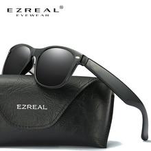 EZREAL Top Brand Designer Polarized Men Women Sunglasses Vintage Fashion Driver Sun Glasses gafas oc