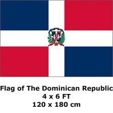 Dominicaanse Republiek Vlag 120x180 cm 100D Polyester Grote Grote Vlaggen En Spandoeken Nationale Vlag Land Banner