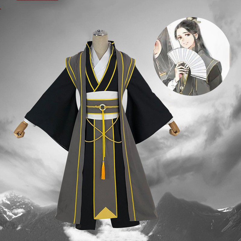 Anime gran maestro de demoníaco cultivo Cosplay NIE HUAISANG joven traje Mo Dao Zu Shi hombres adultos nueva llegada