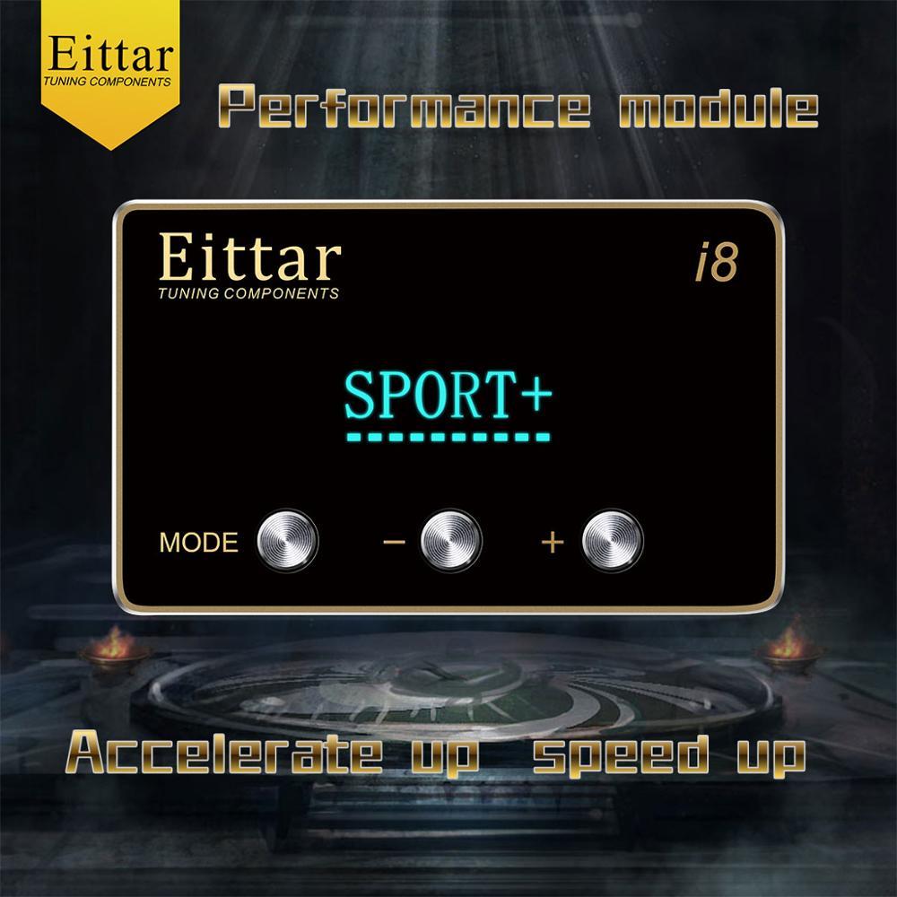 Controlador de acelerador electrónico con pantalla LCD Eittar i8 para DODGE DAKOTA 2007-2011