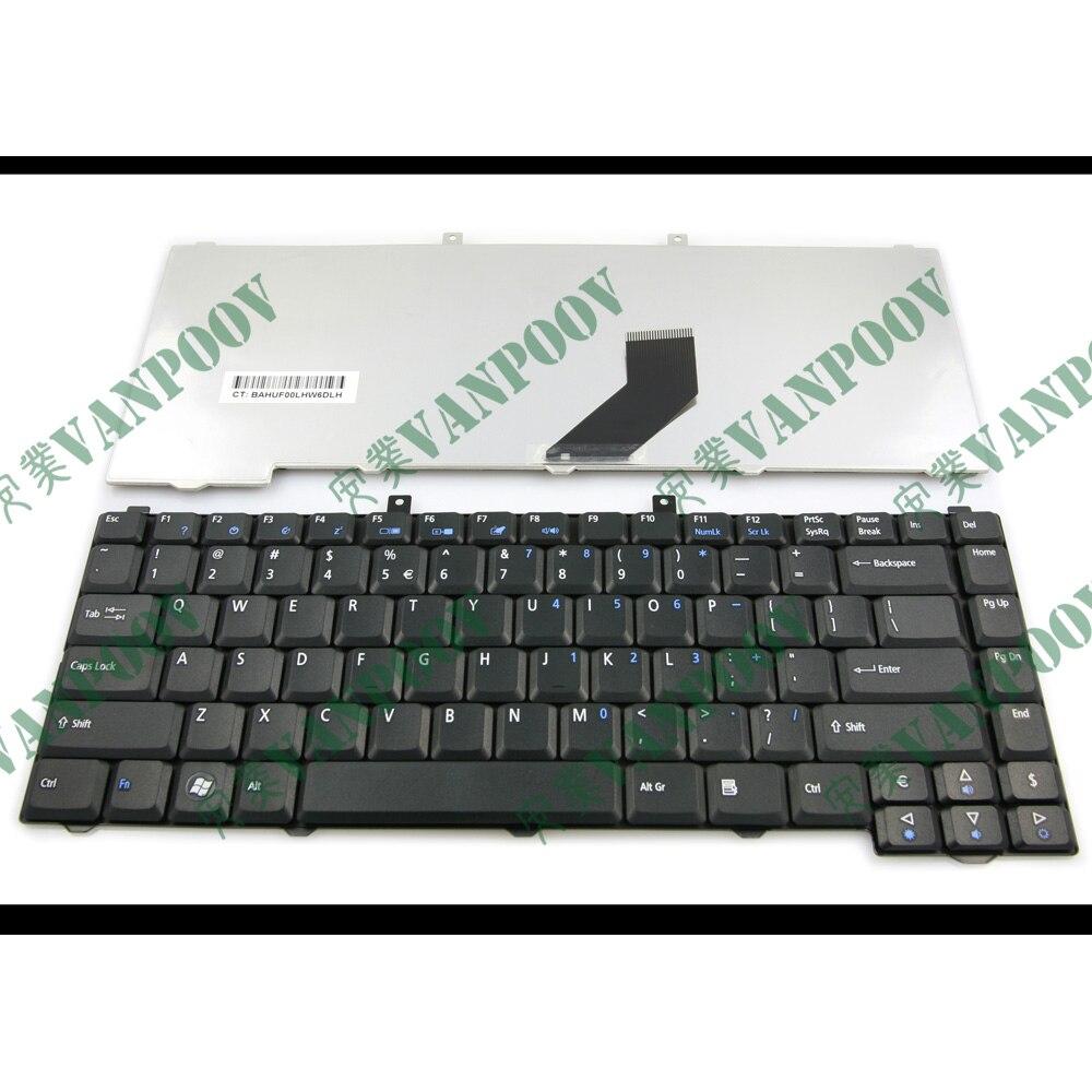 Nuevo teclado del ordenador portátil para Acer Aspire 3100, 5100, 1670, 3030,...