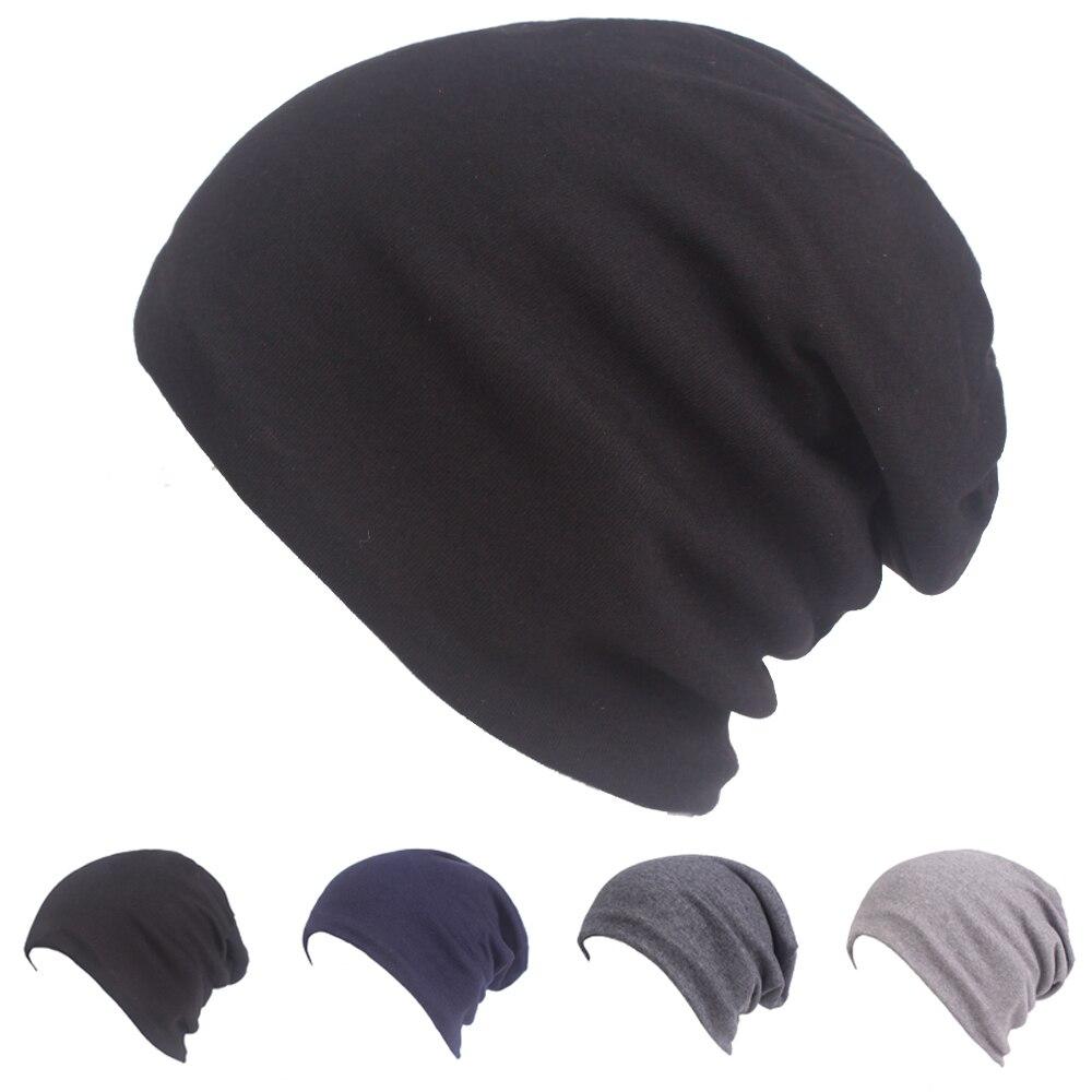 Для мужчин толстые мешковатые шапки-Боб теплая зимняя шапка мешковатые однотонная шляпа CSHAT0568