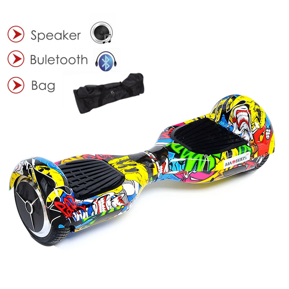 Hoverboard 6.5 Polegada auto equilíbrio gyroscooter duas rodas hover board kick scooter elétrico de pé skate elétrico