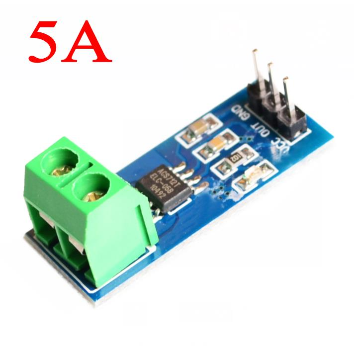 Nuevo módulo de Sensor de corriente Hall 5A ACS712 modelo 5A en stock de alta calidad