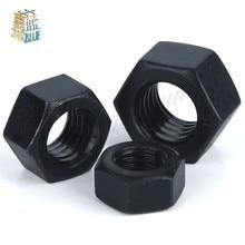 100 pz/set M2 M3 M4 Dadi Esagonali di Plastica di Nylon Dado Esagonale Set Kit Commercio All'ingrosso Nero