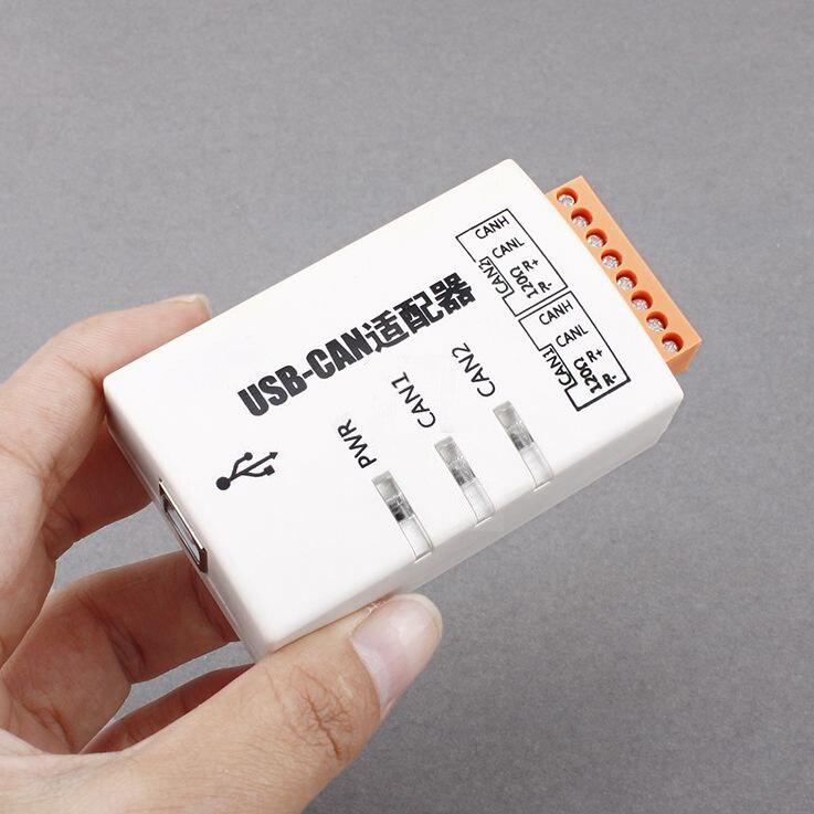 USB إلى يمكن USBCAN-2C ثنائي قناة الصناعية معزولة ذكي يمكن واجهة بطاقة