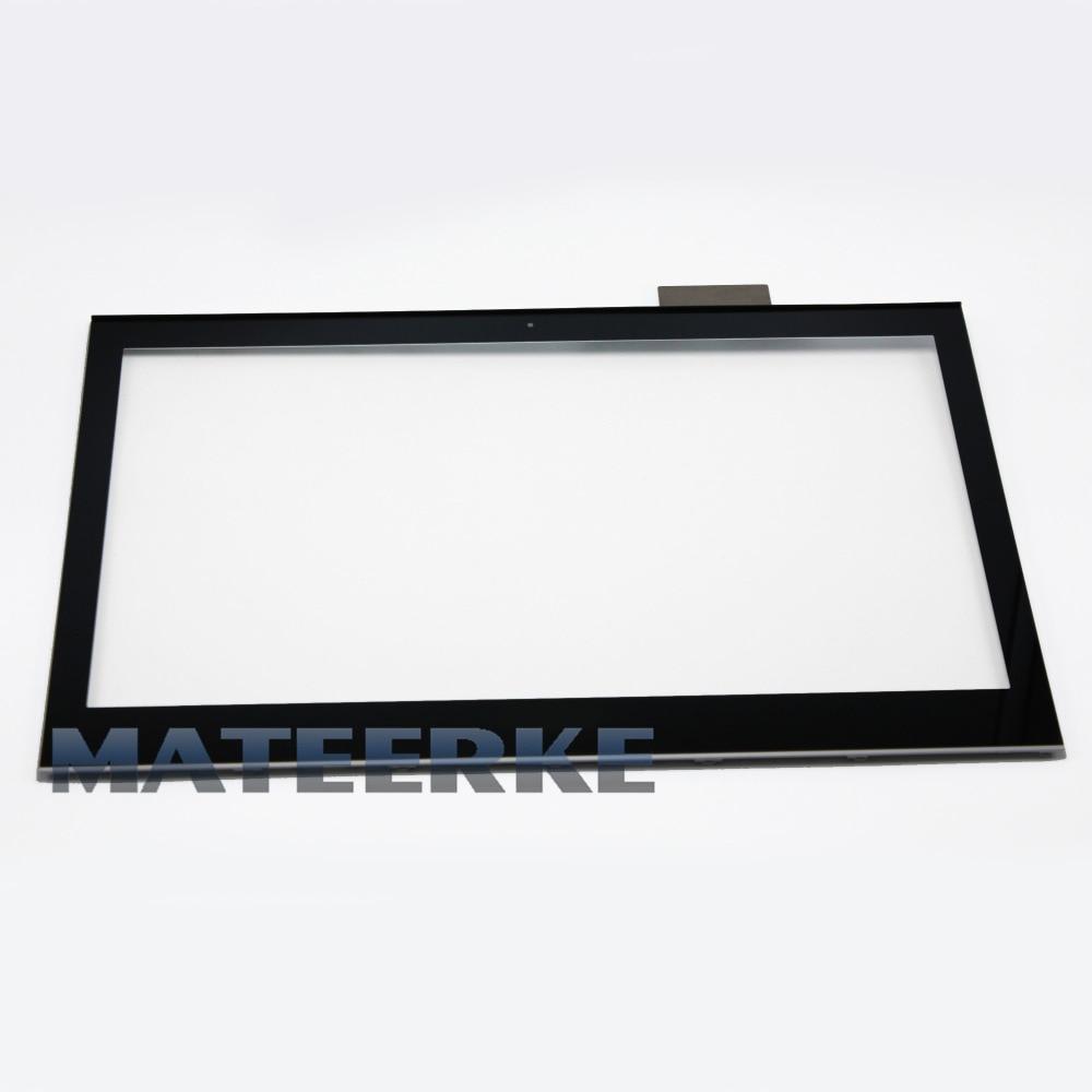 Vidrio de Digitalizador de pantalla táctil portátil para Sony Vaio SVT131 SVT131A11L SVT131B11W + marco