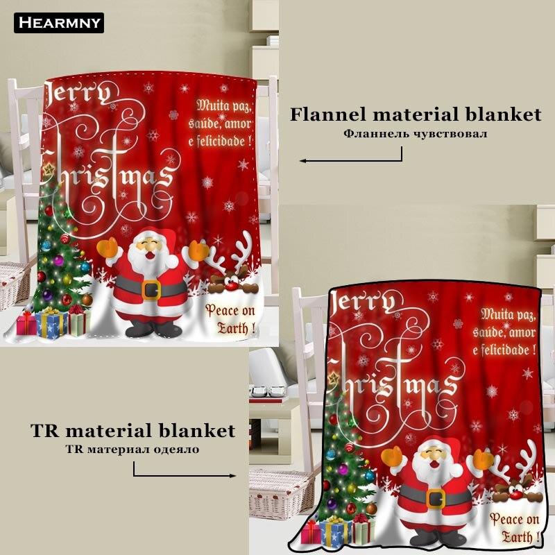 Manta de árbol feliz de Navidad personalizada TR/franela manta de tela de lana decoración de Año Nuevo cómodo cálido Super suave dormitorio