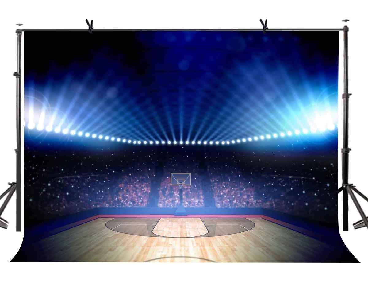 150x220 cm baloncesto Fondo emocionante deportes de cancha de baloncesto estilo fotografía BackgroundPhoto pantalla