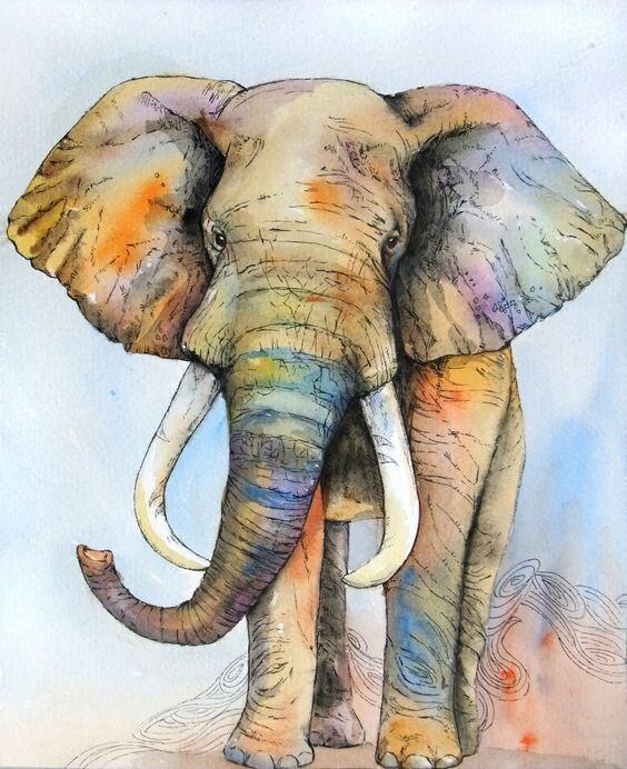 Nueva pintura india elefante Mandala tapiz arte tapices para colgar en la pared Toalla de playa y esterillas de Yoga colcha de gitana decoración para el hogar