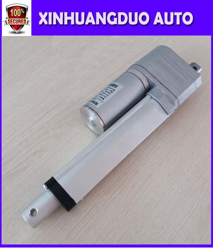 500mm/12 V/24 v/20 pulgadas Carrera, 1500N, carrera personalizada, potenciómetro de motor lineal actuador lineal