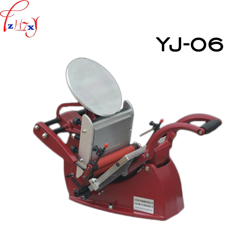 1pc YJ-06 manual letterpress (disc) printing press letterpress business card printing press manual color printing press