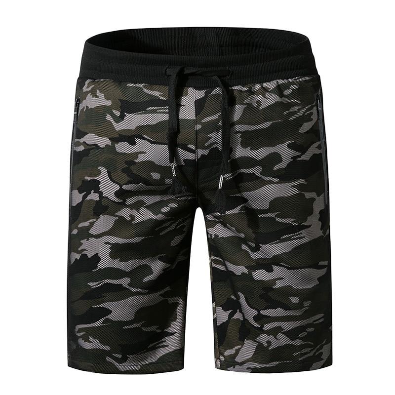 Pantalones cortos holgados informales de verano de secado rápido bañadores de camuflaje para la playa ropa de batalla al aire libre Fatigues Halter pantalones cortos de malla