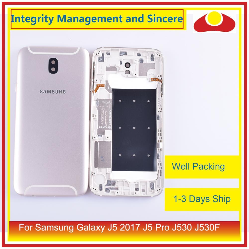 10Pcs/lot For Samsung Galaxy J5 Pro 2017 J530 J530F SM-J530F J530FM Housing Battery Door Frame Back Cover Case Chassis Shell enlarge