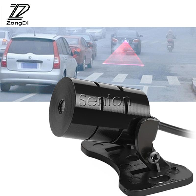 ZD 12V For Volvo S60 V70 XC90 Subaru Forester Peugeot 307 206 308 407 Car Strobe Warning Laser Tail Fog Lights LED Stickers