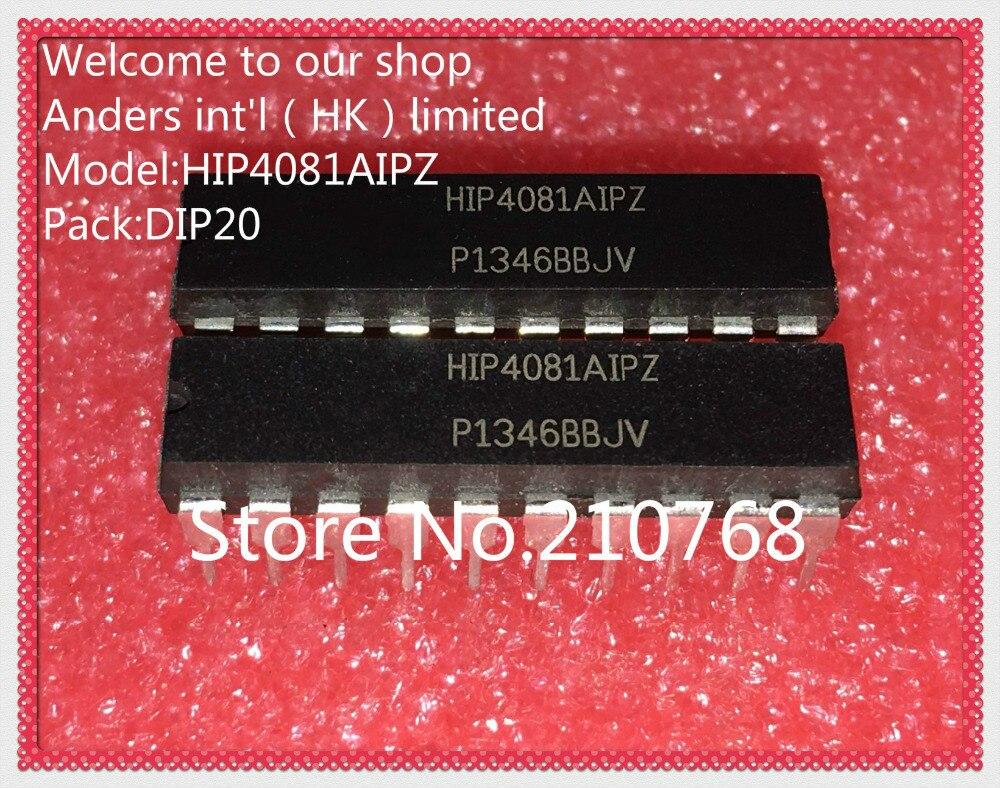 50 pçs/lote HIP4081AIPZ HIP4081AIP HIP4081A1P HIP4081 DIP20