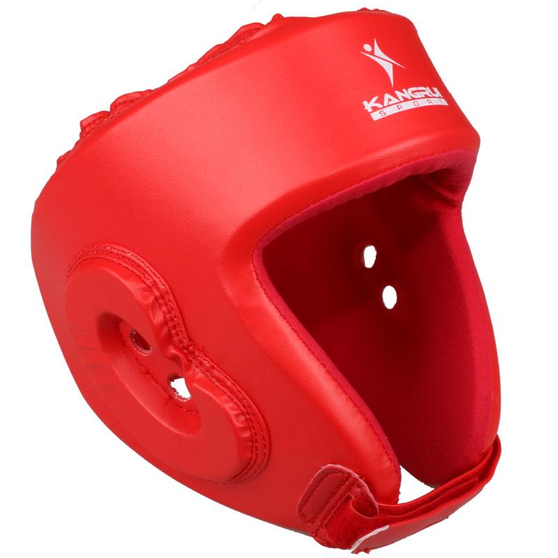New Quality PU leather men women Professional fighting boxing MMA Helmet muay thai boxe headgear Grappling Training Helmet