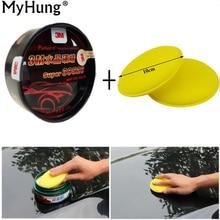 Myhung Carnauba peinture pour voiture   Manteau clair de cire réparation de cire, vernis débosselage réparation Nano revêtement de lavage de voiture