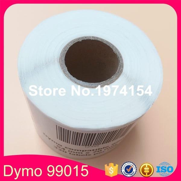 30 x dymo 99015 Ленточные этикетки от dymo 9015 файл CD DVD дискеты адрес этикетки 54x70 мм labelwriter 450 turbo SLP rotoli etichette