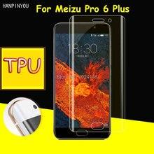 New Full Coverage Clear Soft TPU Film Screen Protector For Meizu Pro 6 Plus 6plus 5.7