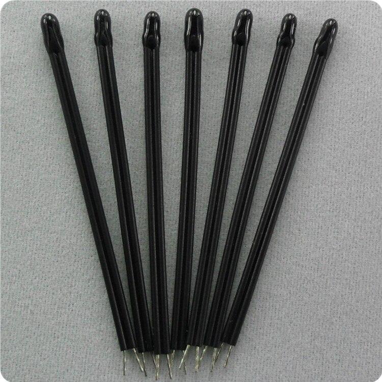 Il trasporto libero 100 pz/lotto 30 #11 centimetri 3435 resina epossidica tipo termistore ntc 10k 1% sensore di temperatura ntc B3435 10K ntc sensore di 11 centimetri