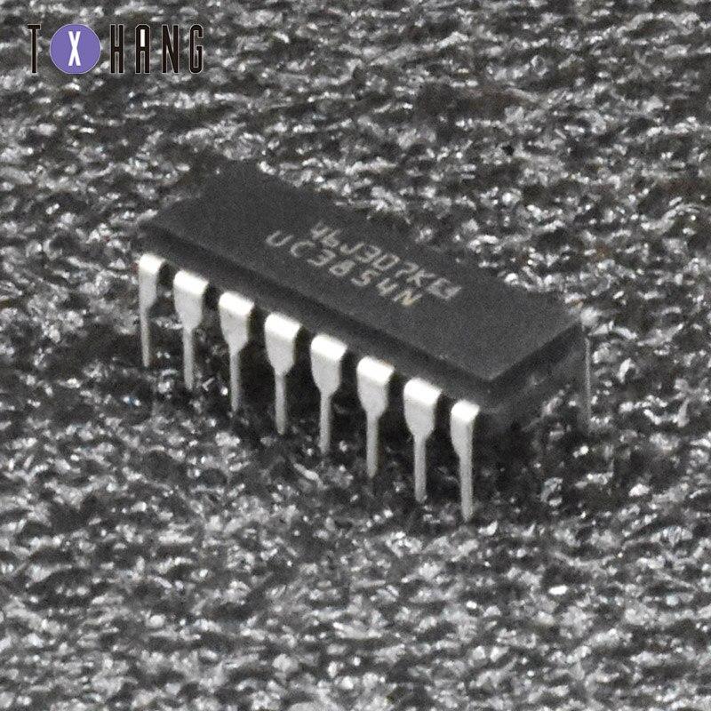 2/10 pces uc3854n uc3854 16 pinos ic encapsulamento ne