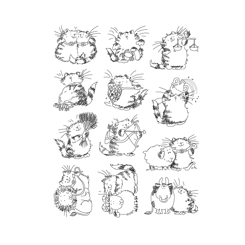 Прозрачные силиконовые марки Cat Days для скрапбукинга/изготовления карт/украшения для детей на Рождество