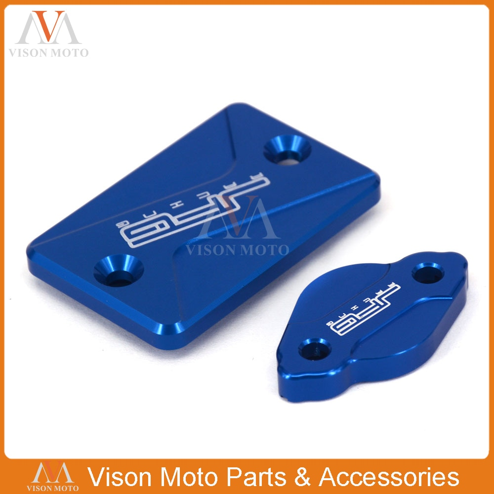CNC y tapa de depósito del freno trasero para Yamaha WR250R WR250X 07-17 Tricker XG250 2004-16 Serow250 2005-16 XT250X 2006-2016