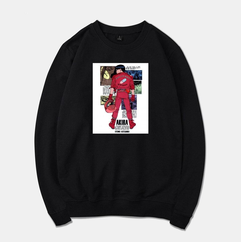 Akira Забавный аниме фильм Весна для женщин/мужчин Толстовка Harajuku Повседневная Толстовка для мужчин/женщин пуловер спортивный костюм одежда размера плюс