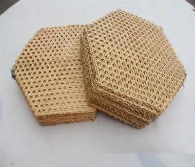 Herramientas de cocina, pequeña alfombra de red de bambú, tejido de mimbre, cincha para restaurante de comida japonesa, plato, Estera de bambú