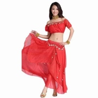 2pcs set performance belly dance costume india triba gypsy costume woman bellydance egypt belly dancing costume for women