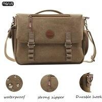 MOSISO 15 15.6 inch Retro Laptop Bag Waterproof Notebook Bag for Macbook Acer Dell HP Lenovo Asus Computer Shoulder Handbag New