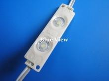 IP65 ، UL مدرج 2 2835 رقائق LED وحدة حقن المياه واقية من LED ، ضمان 3 سنوات للإضاءة علامة led اللون الأبيض