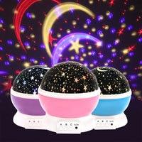 Новинка светящиеся игрушки романтическое звездное небо светодиодный ночсветильник проектор с питанием от USB светильник креативные игрушк...