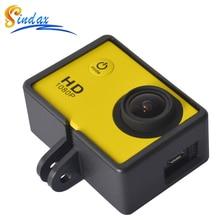 Boîtier pour SJ6000 Action caméra accessoires Standard cadre de protection support boîtier boîtier bordure pour HD SJ4000/SJ6000/SJCAM Wifi
