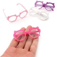 Lunettes rondes poupée accessoires 2018 nouvelles lunettes ajustement 18 pouces fille aléatoirement couleur