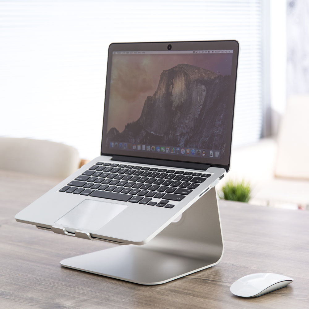 Aluminum Alloy Laptop Cooling Holder Desktop Ergonomics Heighten Notebook Support for MacBook Air Pro Stand