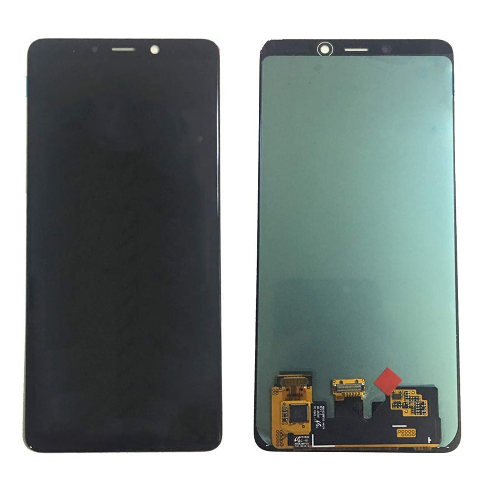 "Super AMOLED 6,3 ""para SAMSUNG Galaxy A9 2018 LCD pantalla táctil digitalizador para SAMSUNG A920 LCD A920F A920FD A920 pantalla"