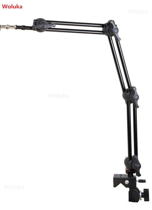 Soporte de lámpara de estudio brazo mágico de 3 secciones barra de extensión doble triple CD50 T07