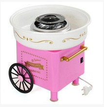 Electric Mini Sweet cotton candy maker machine nostalgia DIY Cotton Candy sugar machine for kids gift children girl boy 220V