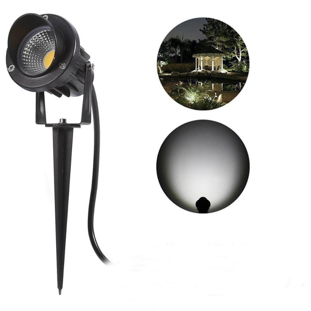 Светодиодный солнечный пейзаж огни на открытом воздухе, Водонепроницаемый 10 Вт декоративные прожекторы лампы газон с наземный крепёж для ш...
