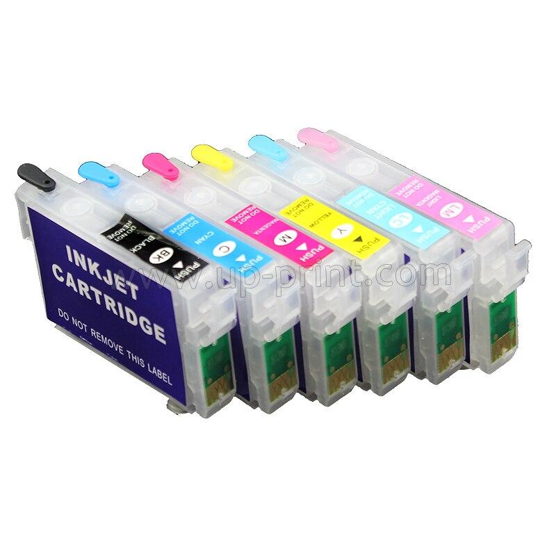 T0851 851N cartucho de tinta recargable vacío para Epson Stylus Photo 1390 t60 85N