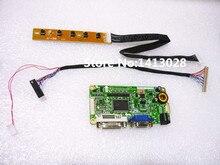 Kit de carte contrôleur LCD 15 pouces avec adaptateur adaptateur DVI VGA 1024*768 carte logique de bricolage convertisseur publicitaire LVDS Raspberry Pi