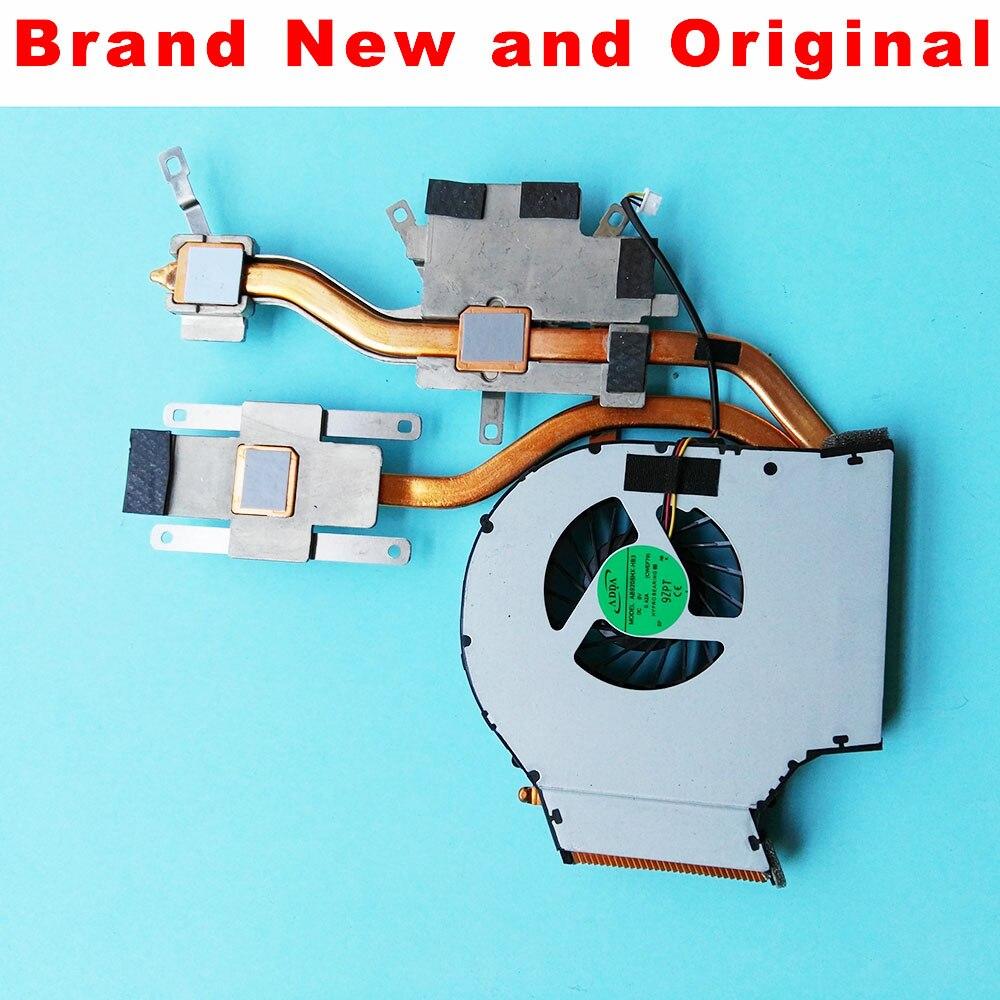 Nuevo ventilador de refrigeración Original disipador de calor para Fujitsu Amilo Pi 3560 3660 ordenador portátil cpu ventilador AB9205HX-HB3 CWEF79 3CEF7TAFX70