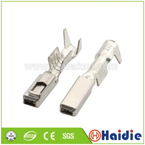 Free shipping 50pcs auto wire terminal for elcetric connector,  crimp loose pins loose terminals DJ627-2.2A