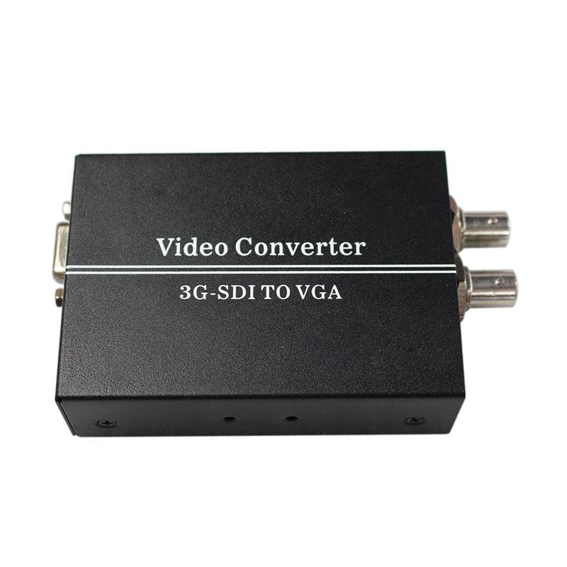 SDI TO VGA sdi (SD-SDI/HD-SDI/3G-SDI) BNC video Converter with power adapter (us or uk or au or eu)