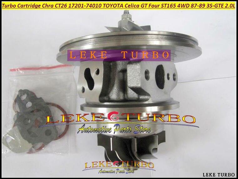 Envío Gratis cartucho Turbo CHRA CT26 17201-74010, 17201, 74010, 1720174010 para TOYOTA Celica GT cuatro ST165 4WD 3SGTE 3S-GTE 2.0L