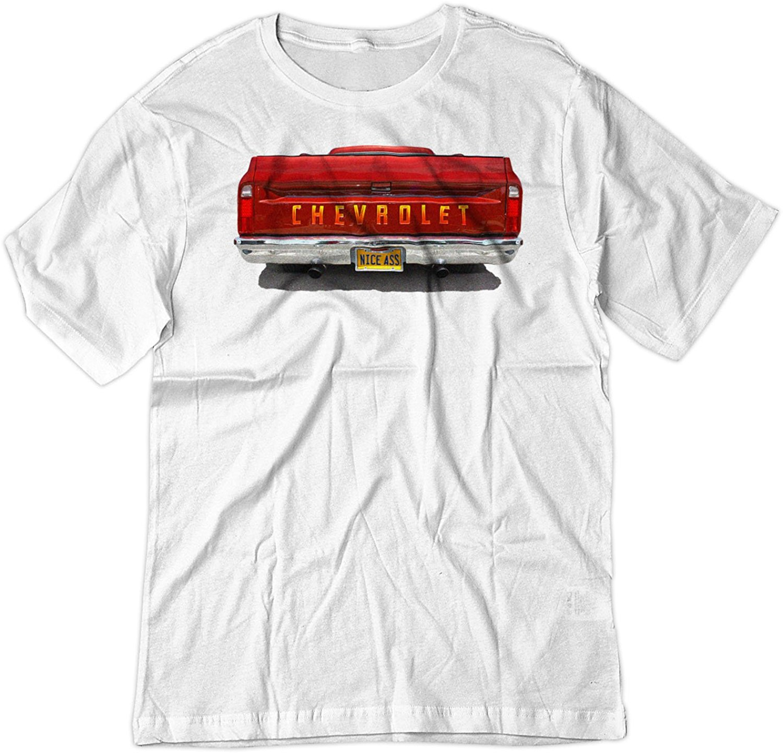 2019 estilo de verano de los hombres de la moda el culo de 1968 C10 camión americano Tee camisa