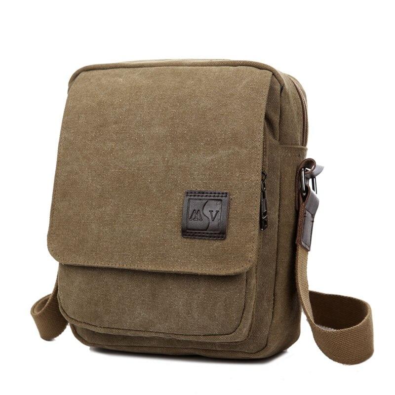 121417 newhotstacy man small canvas bag men shoulder bag