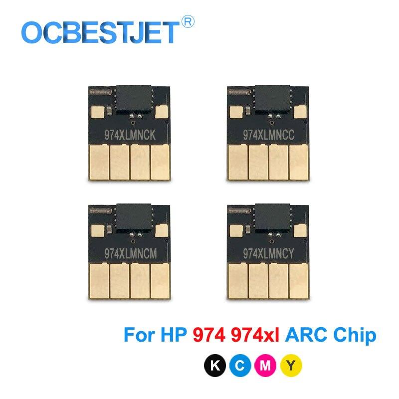 Chip para hp Chip para Chip de hp 552dw para hp Pagewide 352dw 377dw 452dn 452dw 477dn 477dw Chip Permanente 974xl Arc 974 Pro